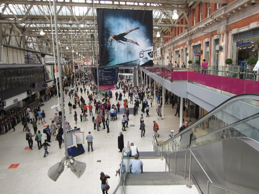 1 Waterloo Station for Ascot by Phl Marsh