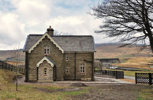 1. Ribblehead station masters house by Geoff Bounds