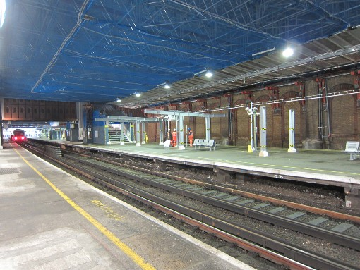 London Bridge trainshed being taken down by Phil Marsh