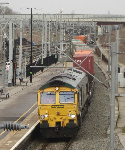 Frieght on the WCML by Phil Marsh