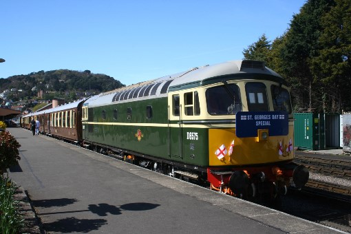 'Crompton' No. D6575 headed the 'Quantock Belle' dining train on April 23, by Peter Nicholson