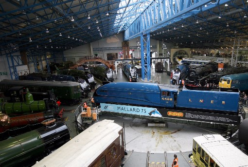 The great gathering courtesy of the National Railway Museum and Kippa Mathews