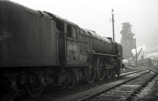 1966 A1 60151 at York. By Geoff Marsh