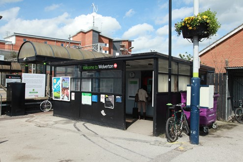 The old wolverton ticket office by Phil Marsh