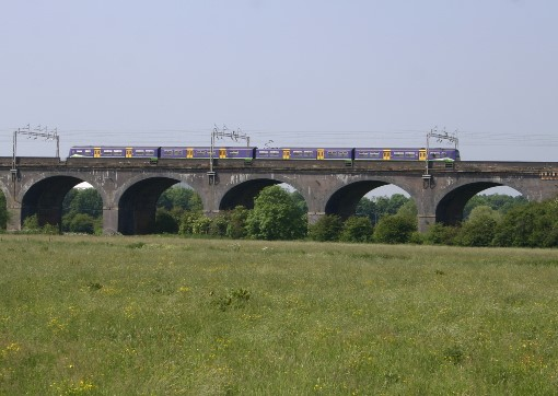 Silverlink train on Wolverton Viaduct by Phil Marsh