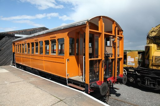 Chappel and Wakes Colne tramway carriage by Phil Marsh