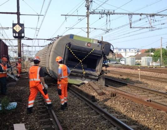 Bretigny accident courtesy of SNCF