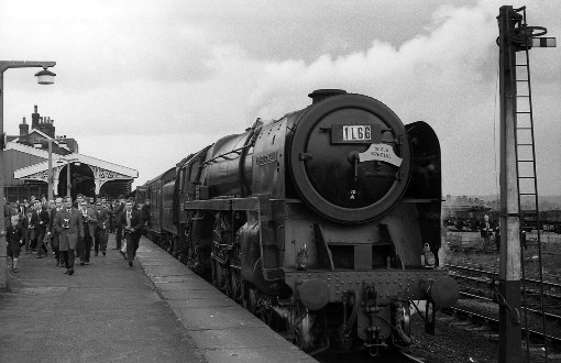 1968 70013 at hellifield by Geoff Marsh