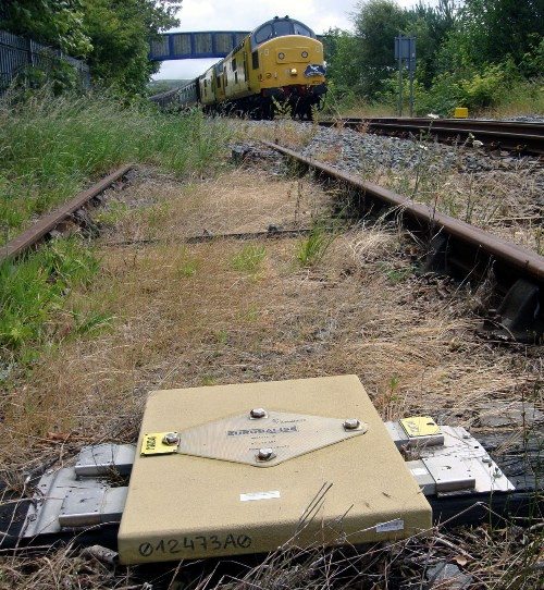 ertms track balise by Phil Marsh