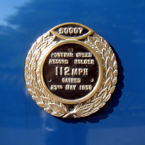 Sir Nigel Gresley speed record plaque by Phil Marsh