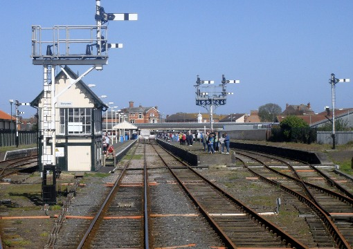 Skegness signalbox by Phil Marsh