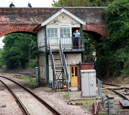 Reedham Junction signalbox by Phil Marsh
