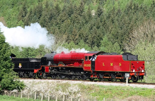 Royal Scot Llangollen 2009 by Cliff Thomas
