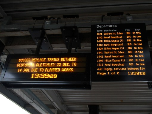 No trains at Bletchley by Phil Marsh