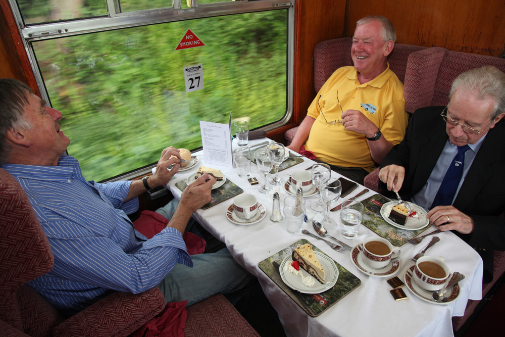 On train puddings