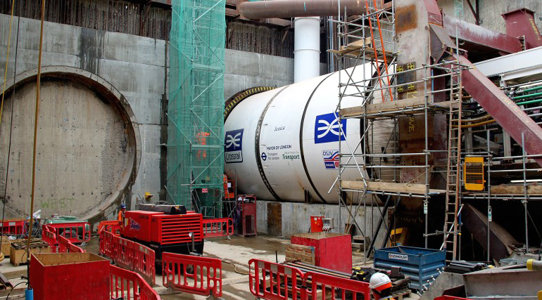Courtesy of Crossrail