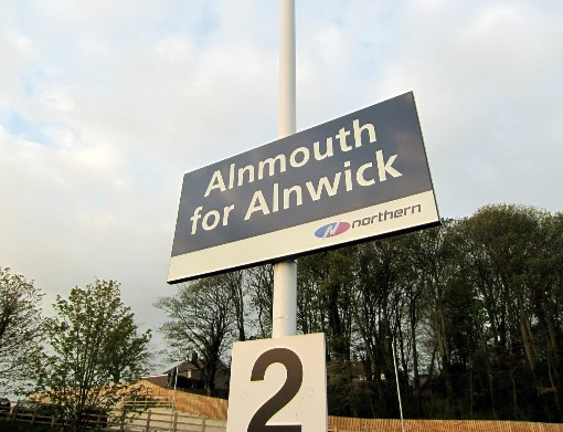 Alnmouth station by Phil Marsh