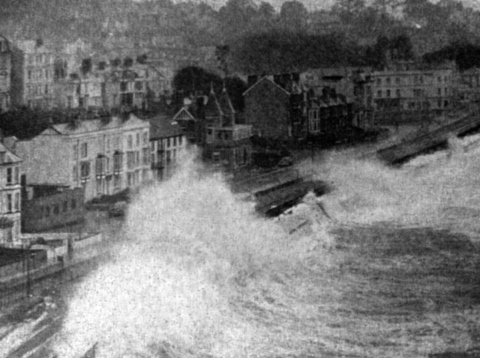 The 1962 storm from the Paul Stanford Collection