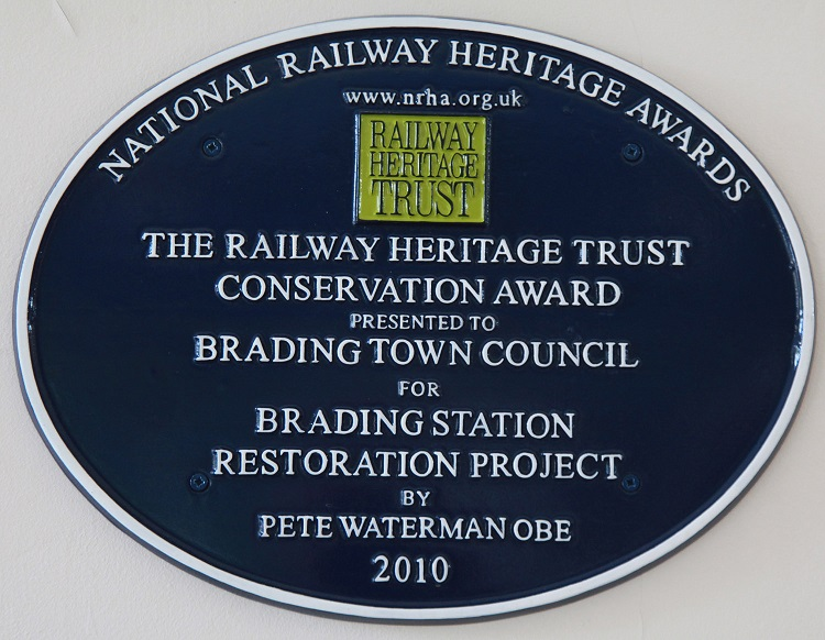 Brading visitor centre award