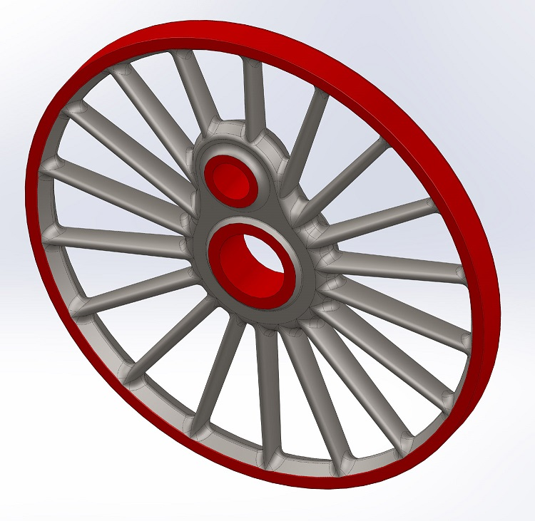 Trailing_coupled_wheel_for_pattern_making