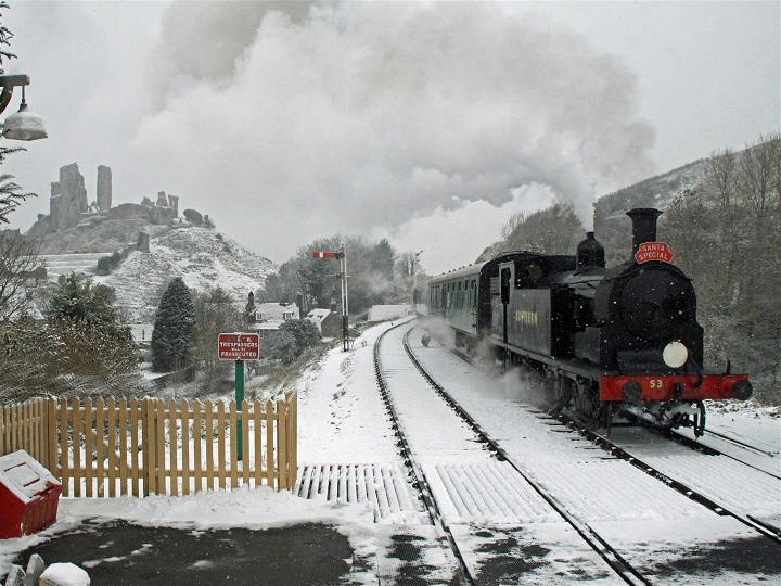 by Andrew Wright swanage railway