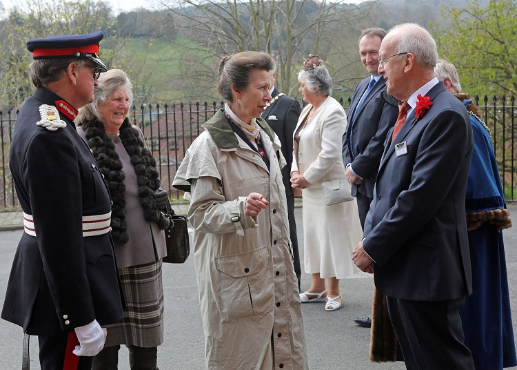 3 HRH Lord Lieutenant of Worcestershire Colonel Patrick Holcroft, meeting SVR Holdings plc Chairman Nick Paul