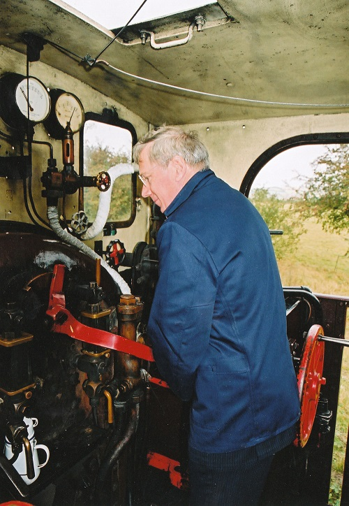 4 Duke of Gloucester driving  in 2005 by Phil Marsh