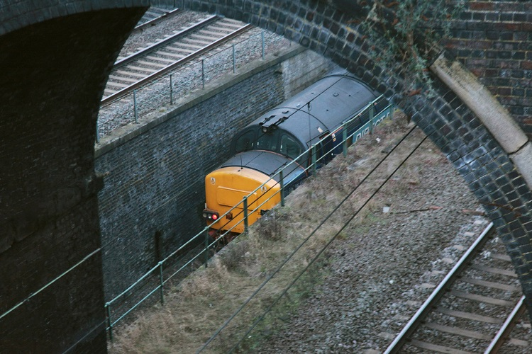 2 DRS Class 37 at Wolverton by Phil Marsh