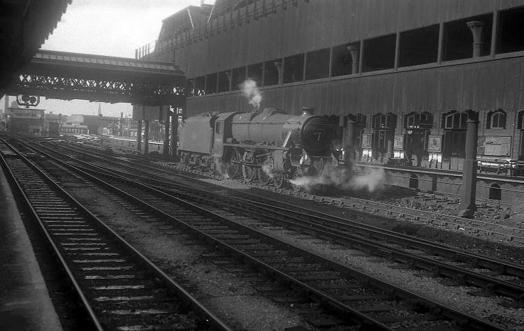 6 1967 Steam days at Manchester Victoria by Geoff Marsh
