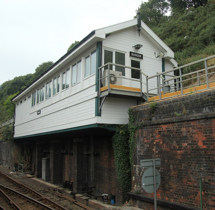 2 Bangor signalbox to close by Phil Marsh
