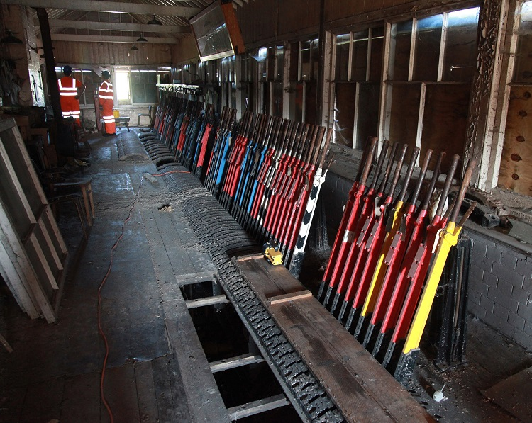 3 The closed Princes Risborough North  signalbox by Phil Marsh a