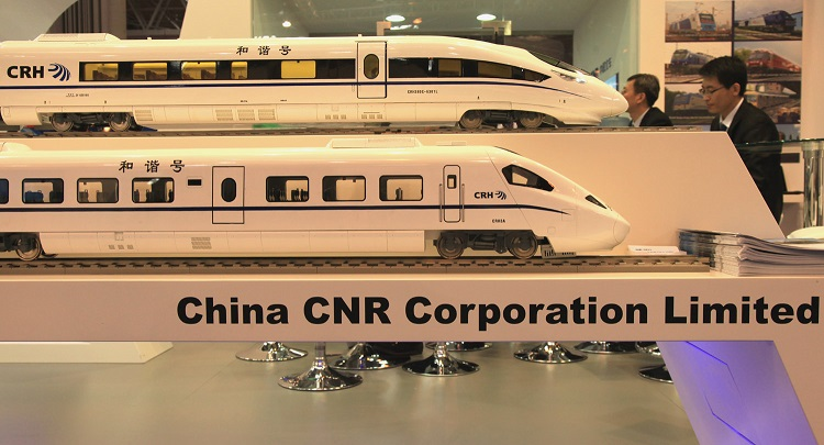 3 China CNR Corporation high speed EMUs by Phil Marsh 4918