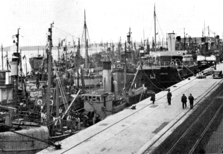 1940 dunkirk little ships at Southampton Phil Marsh collection