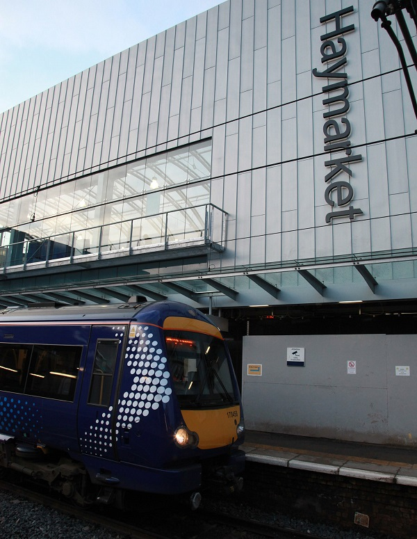 5 Scotrail train at Haymarket by Phil Marsh