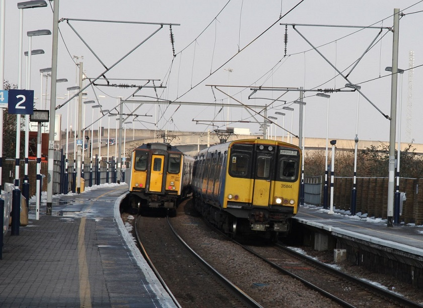 4 Greater Anglia services at Tottenham Hale by Phil Marsh