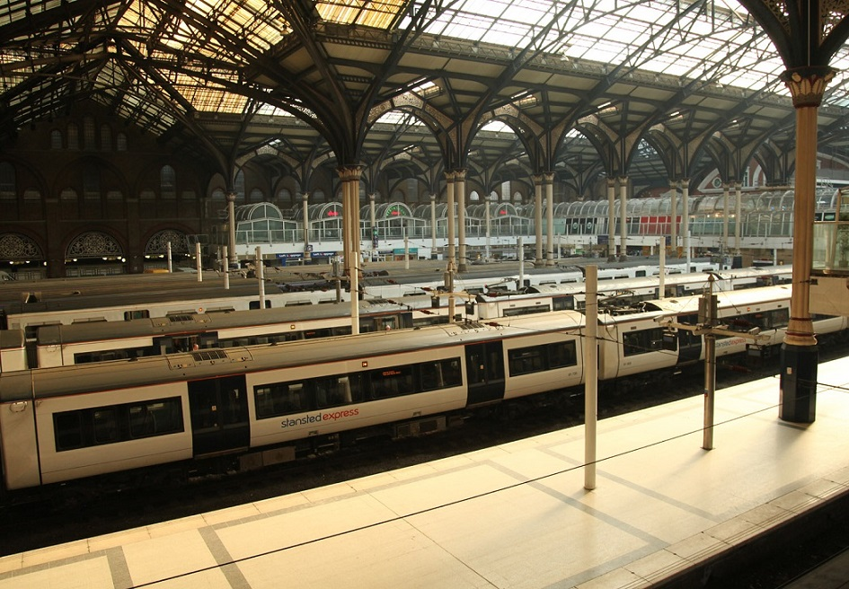 5 Liverpool Street Greater Anglia trains by Phil Marsh