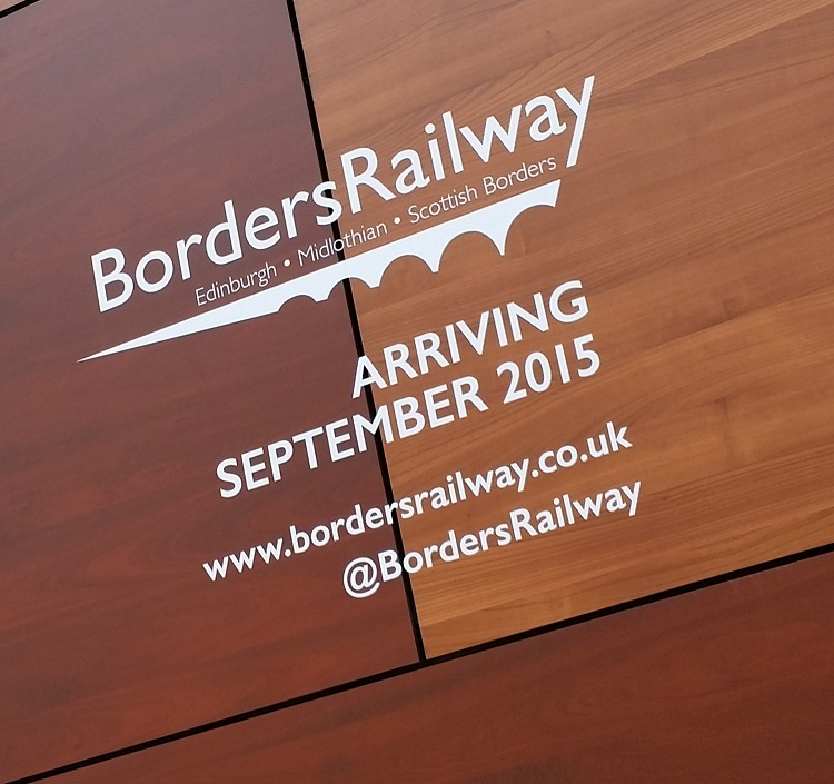 2 Borders Railway artwork by Allan McLean