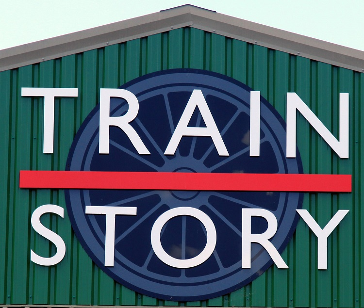 1 Train Story logo by Phil Marsh