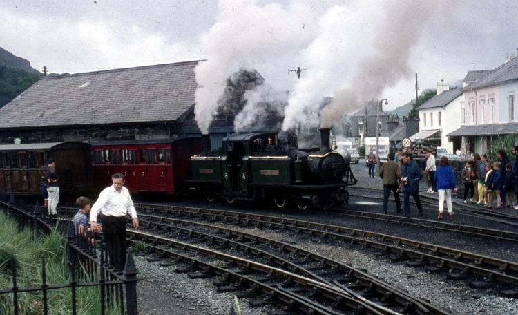 1970 Ffestiniog Railway operation Phil Marsh