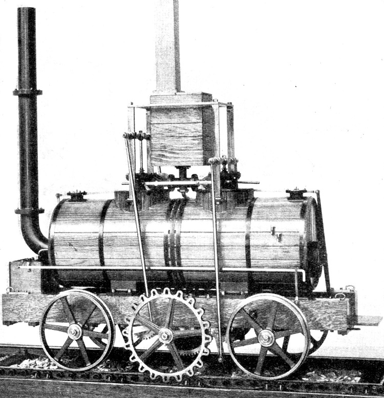 1812 blenkinsop locomotive Phil Marsh collection