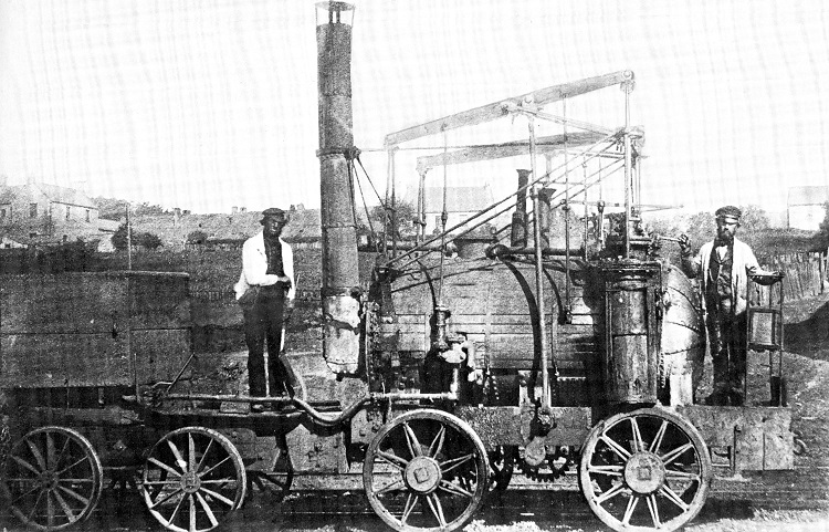 1813 Puffing Billy Phil Marsh collection