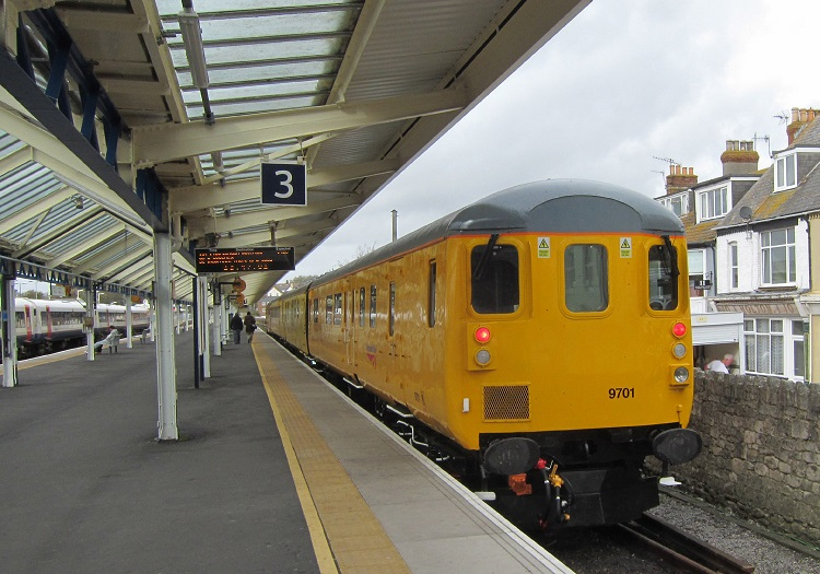 Network Rail train at Weymouth by Phil Marsh