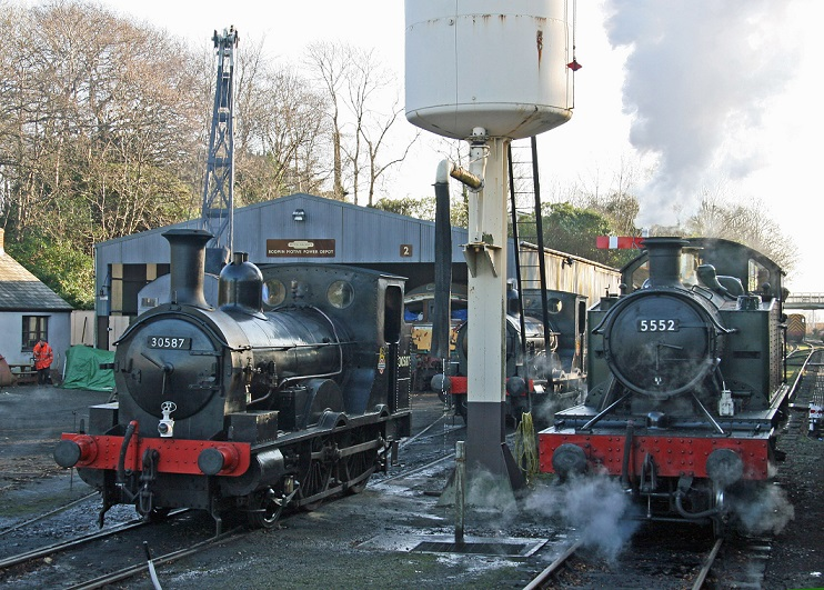 Bodmin General yard_Cliff Thomas