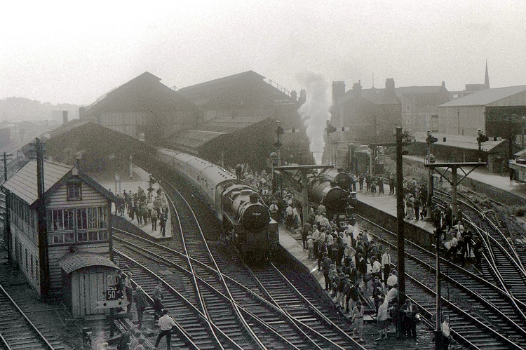 End of steam at blackburn on 4 Aug 1968 by Geoff Marsh