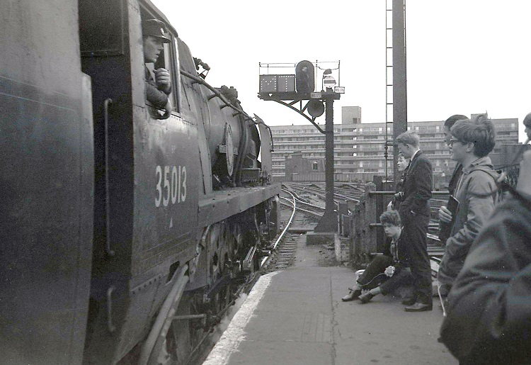 Waterloo steam fans in 1966 by Geoff Marsh