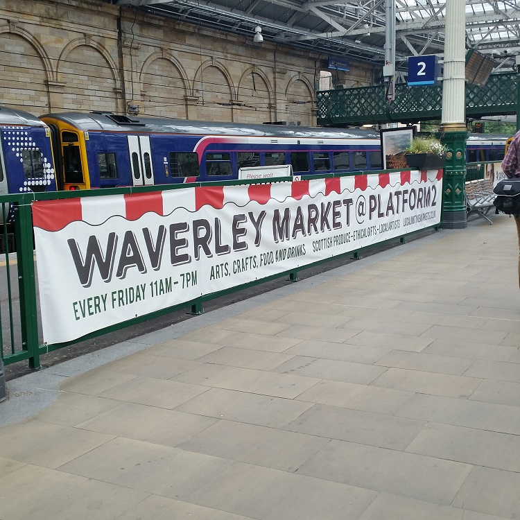 Waverley market by Allan McLean