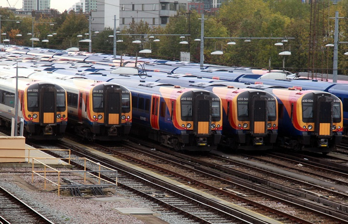Southwest Trains in the sidings by Phil Marsh