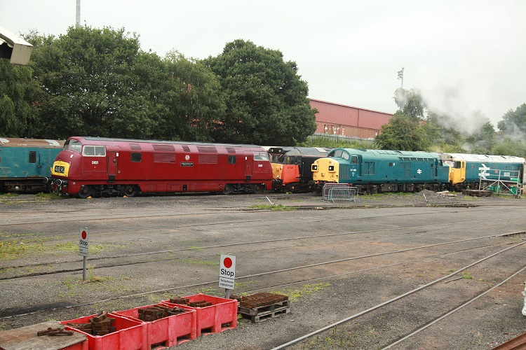 Kidderminster Diesel depot by Phil Marsh