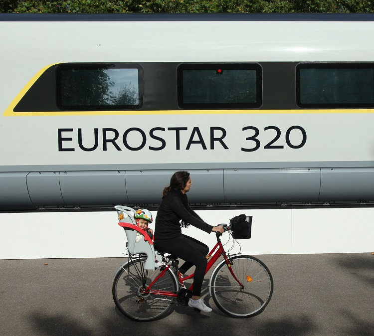 The new Eurostar train by Phil Marsh