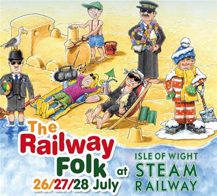 Railway Folk at Isle of Wight Steam ailway